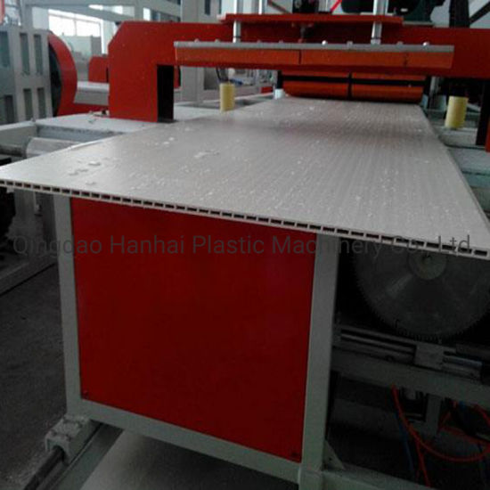 WPC Wall Panel Extrusion Line/Wood Plastic Ceiling Panel Production Line