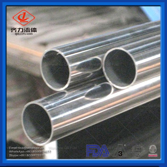 Food Grade Stainless Steel Dairy Welded Round Pipe/Tube Factory pictures & photos