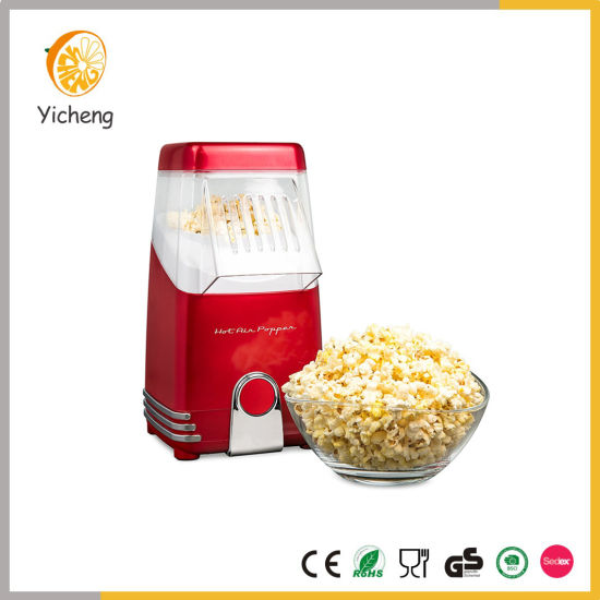 1200W Electric Retro Hot Air Popcorn Maker Without Oil pictures & photos