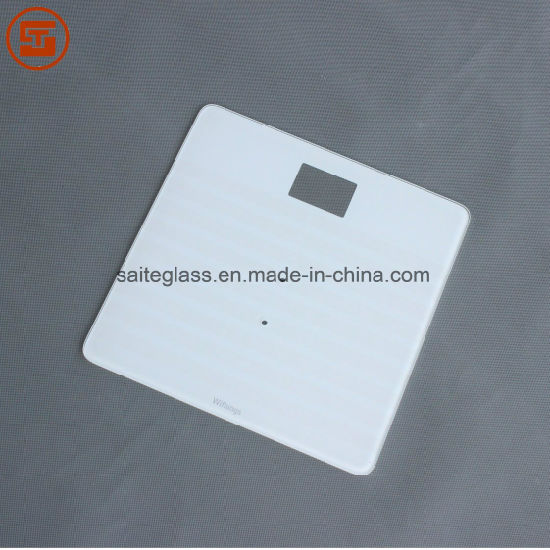 Customized ITO Tempered Glass for EU Weighing Body Fat Bathroom Scale