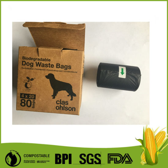 Biodegradable Pet Dog Bags Custom Printed Waste For Outside Use