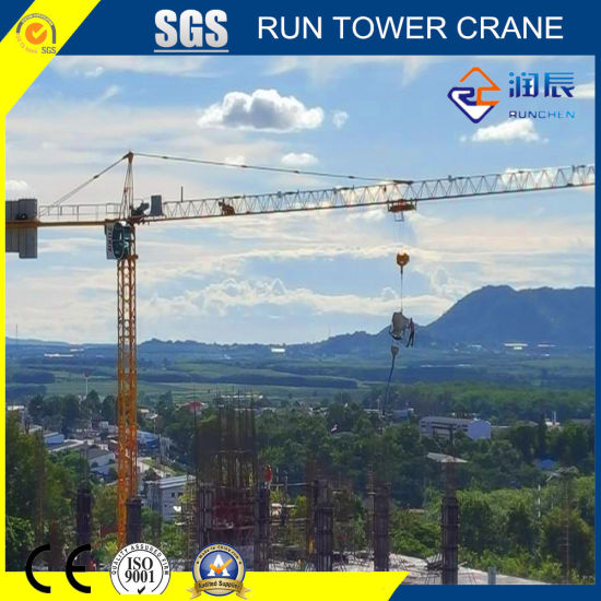 Inner Climbing Rct6011-6 Topkit Tower Crane with 60m Boom for Construction Site
