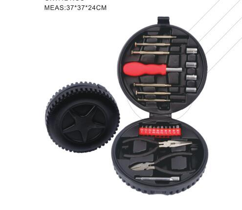 24 PCS Low Price Small Tire Shape Tool Set for Promotion Gift