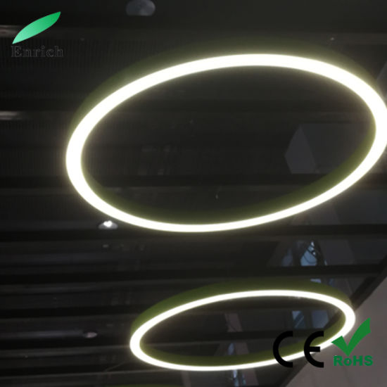 Circular Type LED Linear Light, Round LED Pendant Light with Different Diameter pictures & photos