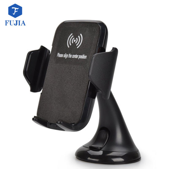Absorbing Wireless Car Charger with Stand Type for Qi Standard pictures & photos