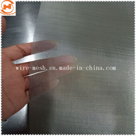 Stainless Steel Wire Mesh/Filter Woven Wire Mesh (7---500 Mesh)