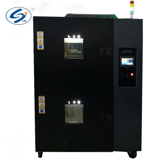 ISO Double Lays Test Chambers Hot and Cold Impact Testing Machine
