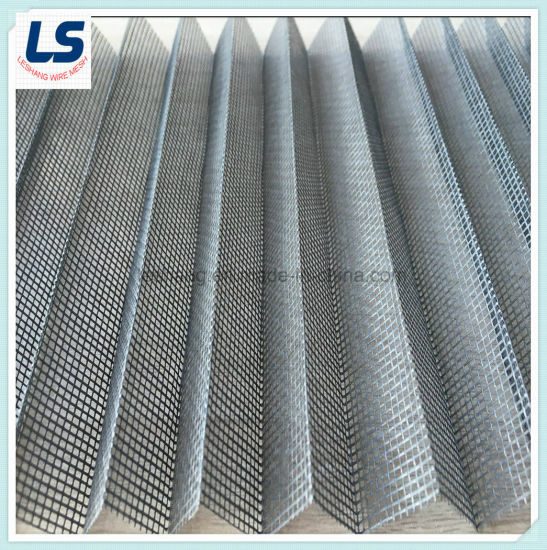 Polyester Pleated Mesh for  Window System pictures & photos
