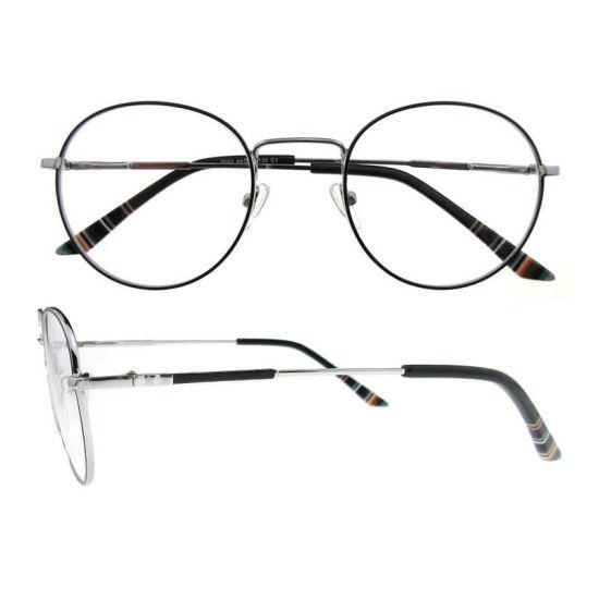 6254fca80ea 2018 New Arrival Italian Design Female Round Metal Optical Eyeglasses Frames  for Women pictures   photos