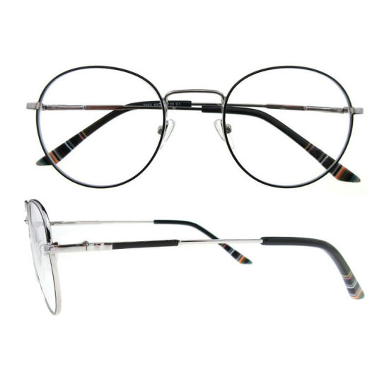 7d79a0495b58 2019 New Arrival Italian Design Female Round Metal Optical Eyeglasses Frames  for Women pictures   photos