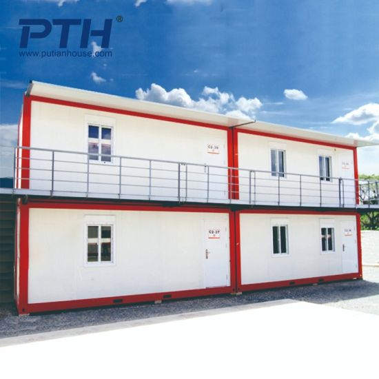 China Prefab Multi Story Container House Project With Various Styles