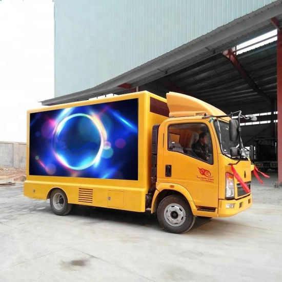 China HOWO Light Duty P6 LED Video Wall Mobile Digital LED