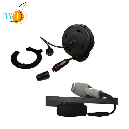 Hair Dryer Retractable Cable Reel Extension Cord