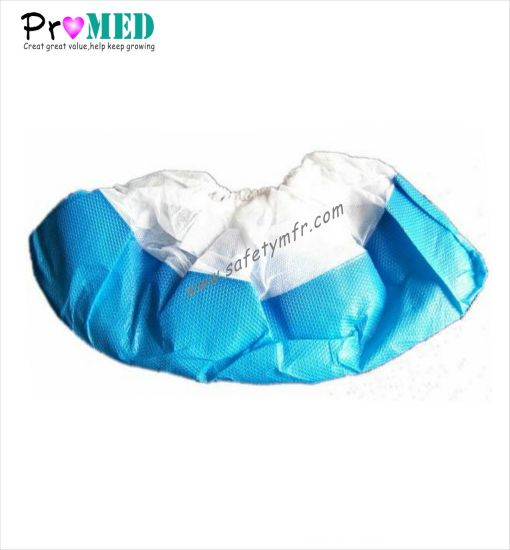 Industry/Medical/Cheap/Spunpond/Plastic/PE/CPE/PP/Nonwoven Machinemade Disposable Plastic Waterproof Anti Slip Shoe Cover