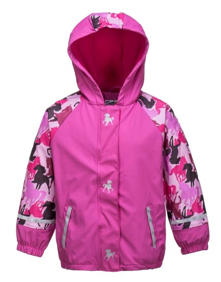 PU Waterproof Rainwear for Boys and Girls pictures & photos