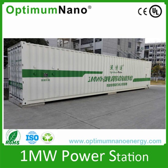 1mwh 1000kwh Energy Storage System Lithium LiFePO4 Battery Station pictures & photos