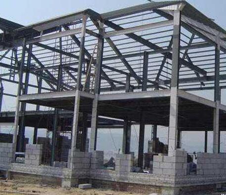 Harga Bangunan Besi Baja Rumah 2 Tingkat