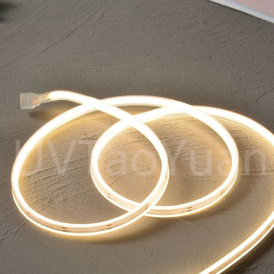 Christmas Light Flex LED Lights SMD LED Strips Dotless Neon COB LED Lighting