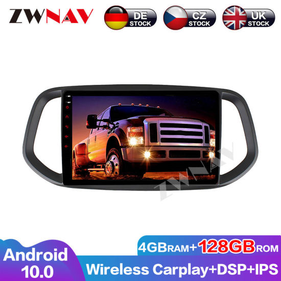 Px6 4+64GB Android 10.0 Car Multimedia Player for KIA Kx3 2015 2016 2017 Car GPS Navi Radio Navi Stereo IPS Touch Screen Head Unit
