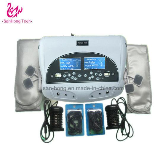 China Dhl Free Shipping Dual Ion Cleanser Detox Cell Foot Spa Machine 875s China Body Detox Machine Ionizer Foot Detox Machine