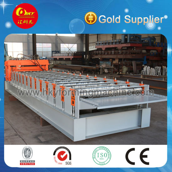 China Factory Roof Tile Cold Roll Forming Machine for Sale pictures & photos