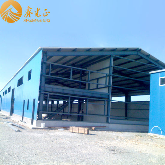 Prefabricated Steel Structure Warehouse with Mezzanine (SS-40)