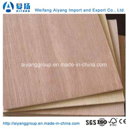 Hardwood Core Okume Commercial Plywood with Carb/Ce Certification pictures & photos