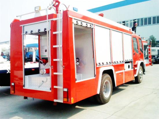 Double Cabin Isuzu 8t Ftr Fire Fighting Truck Factory Slae