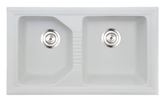 Stainless Quartz Stone Double Bowls Sinks
