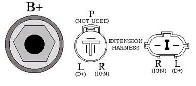 24V 40A Alternator for Denso Nikko Lester 12449 0-35000-3871 Nikko Alternator Wiring Diagram on