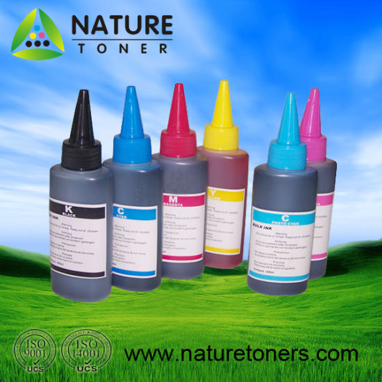 25ml-100ml Dye or Pigment Ink for Epson/Canon/HP/Lexmark/Brother Printer