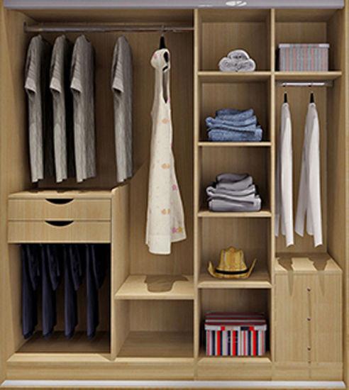 Modular Closet For Modern Design Bedroom Furniture (Br 20 G)