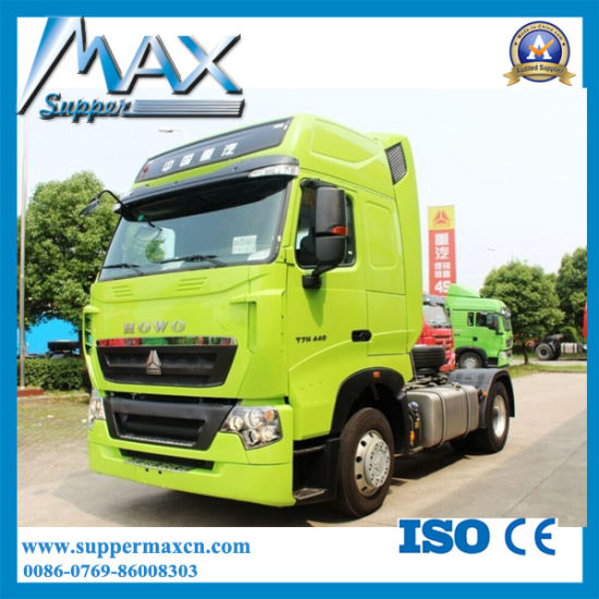 Heavy Duty Sinotruk HOWO-T7h 4X2 Tractor Truck Head for Sale