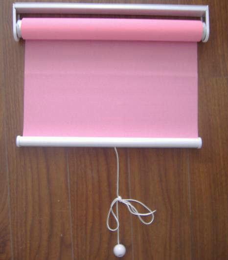 Spring Manual Fabric Roller Blind Inside or Outside UV-Resistant