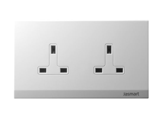 Twin Socket Outlet for Home or Industrial Use (S146Z13F)