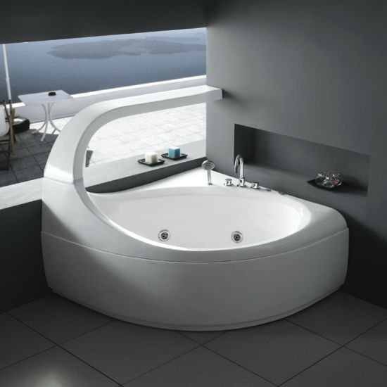 China Special Design Indoor Massage Bath Hot Tub M48 China Simple Bathroom With Hot Tub Interior