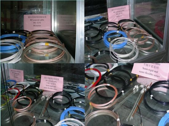 Tinned Copper Conductor and PVC Over Jacket Coaxial Cable pictures & photos