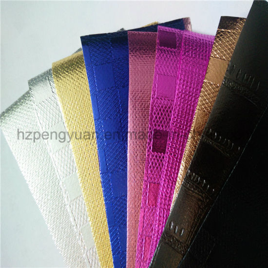 High Barrier Aluminum Foil Laminated Nonwoven Fabric Insulation Application pictures & photos