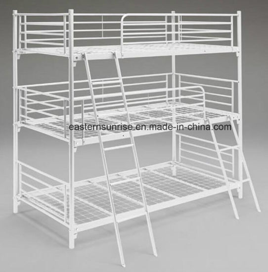 China Metal Bunk Bed, up/Down Iron Frame for Adults′ Labour Student ...