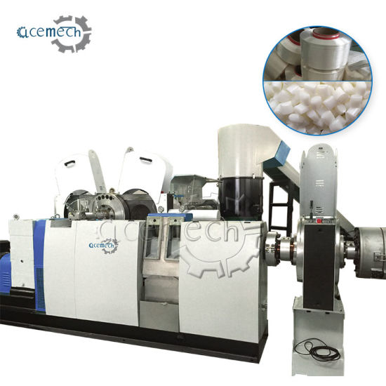 Plastic LDPE/PE/BOPP Film Granulating PP Woven Bag Pelletizing & HDPE Regrind Recycling Granules Extruder Single Double Stage Pellet Machine pictures & photos