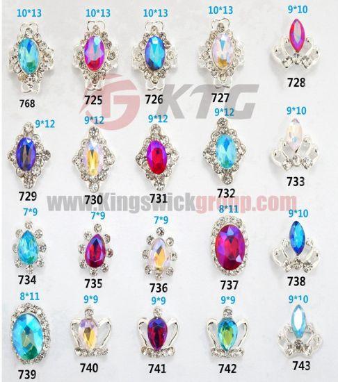 China Fashion 3d Nail Art Zircon Stone Wholesale Rhinestone Zircon