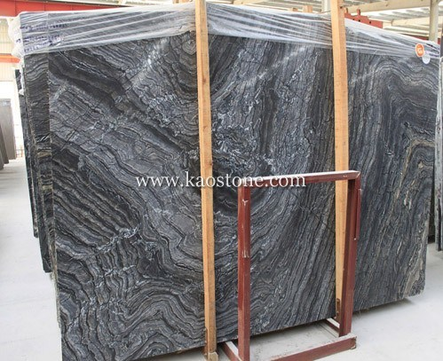 Chinese Antique Wood / Black Vein Marble pictures & photos