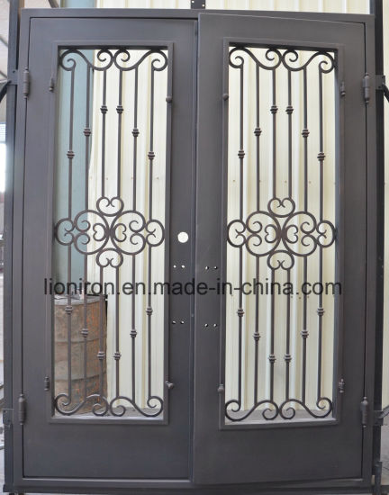 China High Quality Cheap Price Type Entry Doors Iron Front Security