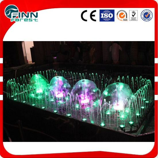 Outdoor Indoor Rectangle Shape LED Water Dancing Music Fountain pictures & photos