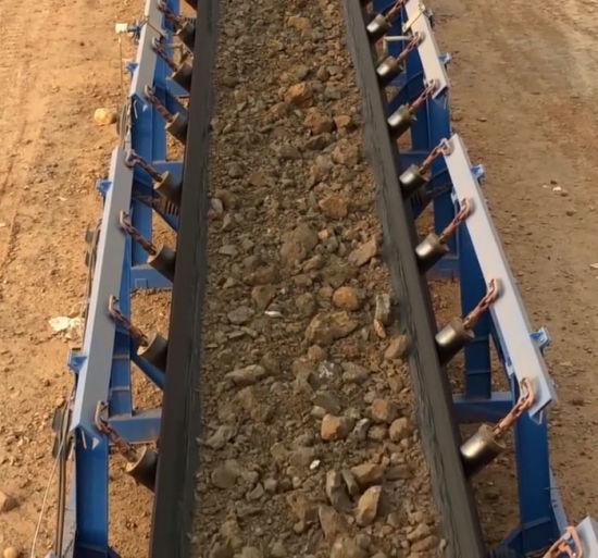 Use for Bulk Material Transportation High Quality Pipe Material Handling Equipment Belt Conveyor System