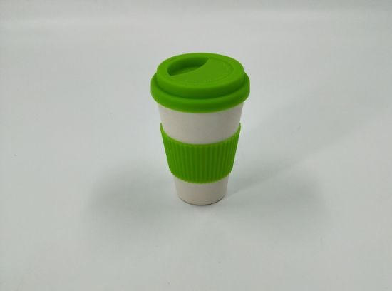 2018 Hot-Sell Printed Bamboo Fiber Cup (YK-BC4183)