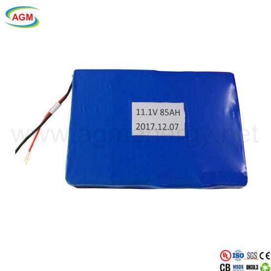 OEM 3s33p 11.1V 85ah Solar Energy LED Light Lithium Battery