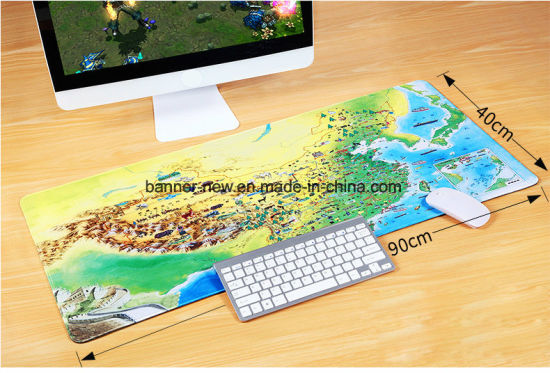 Custom Full Color Printed Suede Mouse Mat pictures & photos