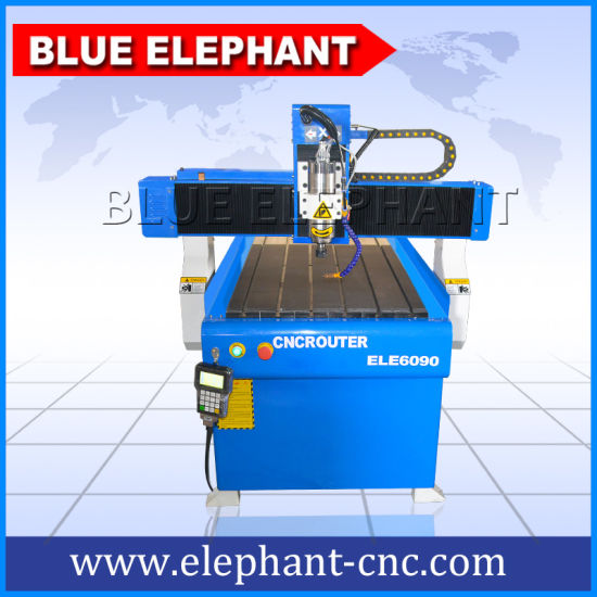 Ele 6090 High Precision CNC Wood Turning Machine, Best Metal Engraving Machine, CNC Small 3D Engraving Machine for Sale pictures & photos