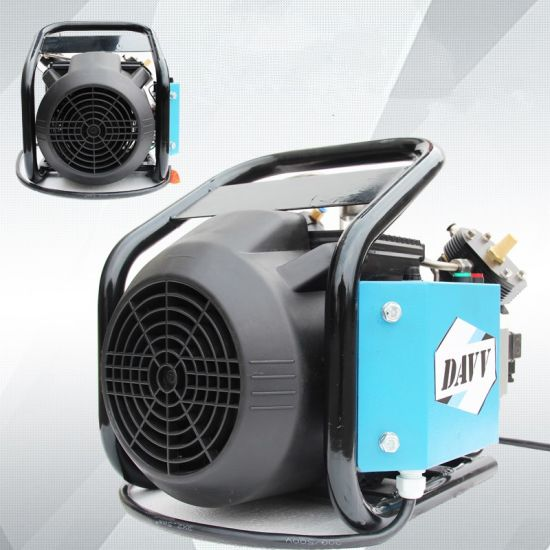 Small Electrical Air Compressors High Pressure Air Pumps 300bar 4500psi Used for Paintball Refilling pictures & photos